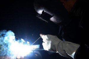 welding metal in Lost Springs class